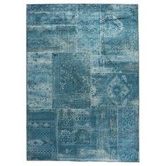 Karpet Florence 160 x 230 cm Blauw