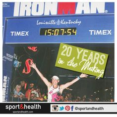 A goal 20 years in the making: Sport&Health member Kat Hale always dreamed of completing an Ironman competition. She initially set out to just finish, but then set her sight on finishing in under 15 hours. Her official time was 14:58:23 - way to go, Kat! Find more member success stories at http://www.sportandhealth.com/connect