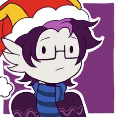 "Ho Ho Homestuck - Eridan. Everyone else is all happy bout Gristmas and stuff but Eridan's like ""Wwhat am I even doin' here?"""