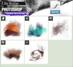 Photoshopでイラストやお絵描きする時にダウンロードしておきたい、無料で使えるPhotoshopのブラシ素材のまとめ