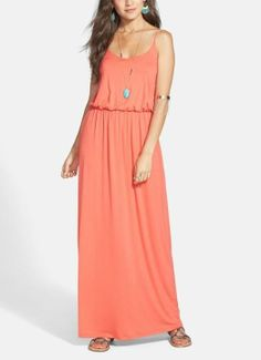Yes to this coral maxi.