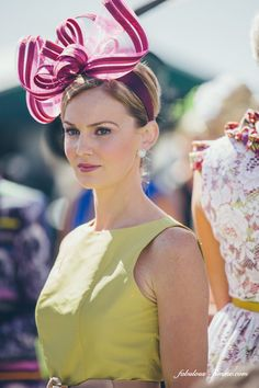 photos of spring fashion at melbourne cup, australia #FashionSerendipity #Fashion #hat