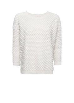 ON SALE $24.99 MANGO - Open knit cotton jumper