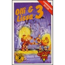 Olli & Lissa 3 for Commodore 64 from Cartoon Time/Codemasters (1299)