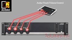 MTX48 4-zone Audio Matrix multi-zone audio distribution systems offer a truly polyvalent solution for commercial and residential applications.