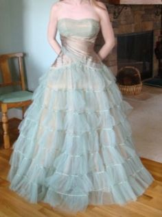 Vintage ball gown - striking by kimberley