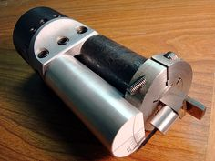 Homemade trepanning tool grinding jig.