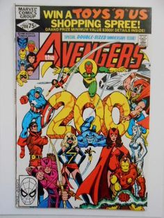 Avengers #200 VF condition comic book