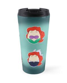 """Little Mermaid Tiggles"" Travel Mugs by LaurasLovelies | Redbubble"