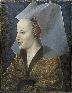 A possible portrait of Michelle de Valois,mid XVth c. by Rogier van der Weyden