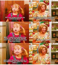 Full House Full House Memes, Full House Funny, Full House Quotes, Really Funny Memes, Funny Relatable Memes, Bob Marley, Michelle Tanner, Fuller House, Tv Show Quotes