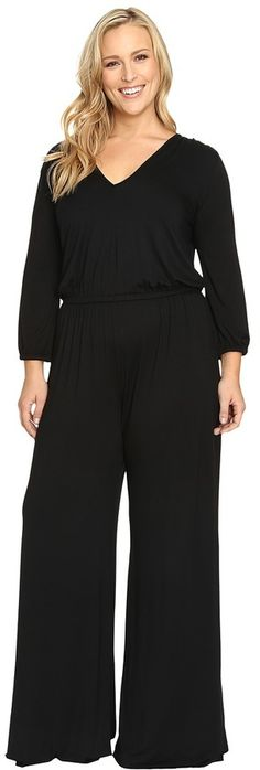 Rachel Pally Plus Plus Size Clancy Jumpsuit White Label * Check out the image by visiting the link.