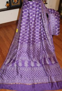 Purple Chanderi Cotton Silk Saree Chanderi Sarees #sarees #saris #indianclothes #womenwear #anarkalis #lengha #ethnicwear #fashion #Bollywood #vogue #indiandesigners #handmade #britishasianfashion #instalove #desibride #bollywoodfashion #aashniandco #perniaspopupshop #style #indianbeauty #classy #instafashion #lakmefashionweek #indiancouture #londonshopping #bridal #allthingsbridal #statementpieces #weddingideas #jewelry #jewellery