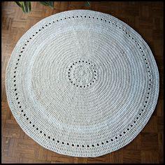 Tapis ethnique au crochet Phildar