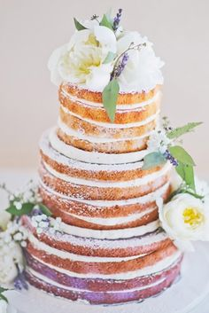 Rustic Wedding Cakes For The Perfect Country Reception ❤ See more: http://www.weddingforward.com/rustic-wedding-cakes/ #weddingforward #bride #bridal #wedding