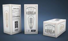 9 inspirational packaging design trends for 2017 - Packaging Box, Vintage Packaging, Gift Box Design, Energy Saver, Packaging Design Inspiration, Fountain Pen, Design Trends, Custom Design, Bulb