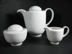 Bauhaus Hutchenreuther 3 Piece Coffee or Tea Service by Modarts1, $85.00