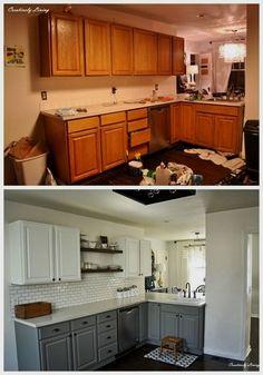 Modern And Trendy Kitchen Cabinets Ideas And Design Tips – Home Dcorz New Kitchen Cabinets, Kitchen Countertops, Kitchen Backsplash, Soapstone Kitchen, Concrete Countertops, Laminate Countertops, Kitchen Sinks, Kitchen Shelves, White Cabinets