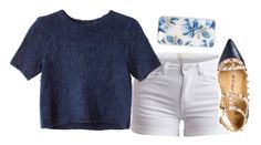 """""""Untitled #1582"""" by ibthal-hussain ❤ liked on Polyvore featuring Sonix, Pieces, Monki and Valentino"""