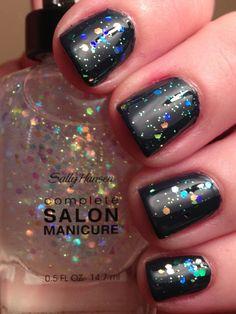 snow globe nail polish sally hansen - Google Search