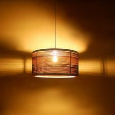 Shinerinternational Ed 1 Light Drum Pendant Reviews Wayfair Plywood Lightning