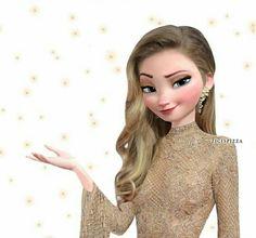 Anna Instagram, Modern Day Disney, Cute Kawaii Drawings, Jelsa, Elsa Frozen, Princesas Disney, Artsy, Movie, Disney Princess