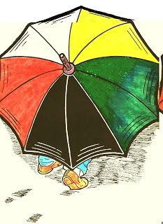 Pra Fran Soler: O guarda chuva Ambulante