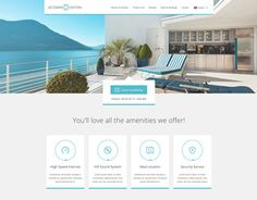 """Check out new work on my @Behance portfolio: """"Accommodation Landing Page"""" http://be.net/gallery/28952619/Accommodation-Landing-Page"""