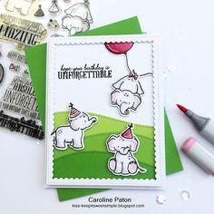 UNFORGETTABLE : by Caroline Paton using Wplus9 Unforgettable stamp set