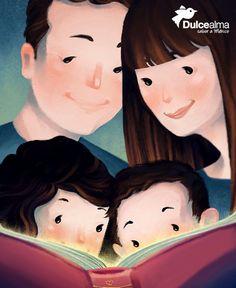 Si compartes la lectura con tus hijos, ellos te enseñarán los maravillosos resultados cuando crezcan. #DulceFamilia #DulceAlma #Sábado #cdmx