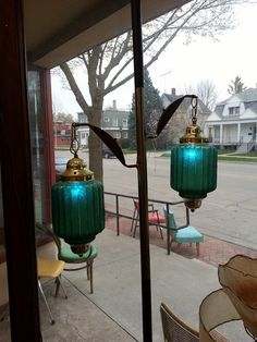 Gothic tension pole lamp