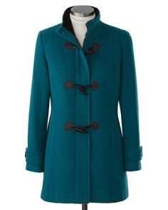 Central park toggle coat   Coldwater Creek