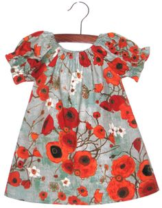 Poppy dress. Love the print. Love the style. @Katie Schmeltzer. Sophie needs!