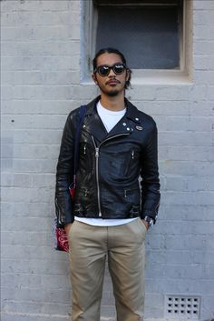 Lewis leathers and Jacques Marie Mage Sunglasses