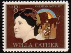 Literary Stamps: Cather, Willa (1873–1947)