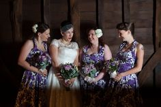 One of our bridal parties Hair & makeup Lipstick & Curls http://www.lipstickandcurls.net/services/bridal-styling/