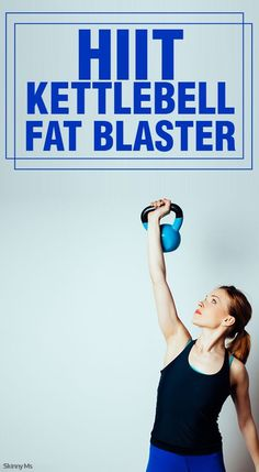 HIIT workouts are the perfect way to blast fat and tone. They are quick and super efficient, and allow your metabolism to soar all day. Our HIIT kettlebell workout combines two fat blasting techniques to give you amazing fat blasting results.