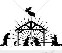 manger scene clip art nativity clipart clip art nativity graphic rh pinterest com nativity scene clipart silhouette nativity scene clip art black and white