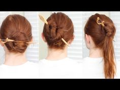 Silvousplaits Hairstyling | Fast and Easy Pinless Updos that Last All Day