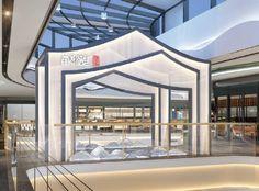 Cafe Shop Design, Mall Design, Shop Front Design, Display Design, Booth Design, Catering Design, Commercial Complex, Column Design, Pop Up
