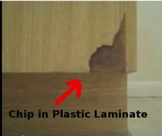 How To Repair Damaged Laminate Formica Cabinets