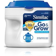 Similac Go & Grow Infant Formula, Milk-Based, with Iron, Powder, Months Baby Formula Milk, Infant Formula, Toddler Nutrition, Baby Gallery, Diet Coke, Powdered Milk, Kids Corner, Packaging Design Inspiration, Baby Feeding