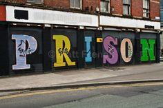 - Fine Art Photographic Print, Irish photography, Dublin Street Art Prison Photo Print on Glossy Paper Dublin Street, Photographic Prints, Prison, Photo Art, Street Art, Neon Signs, Etsy Shop, Fine Art, Ireland