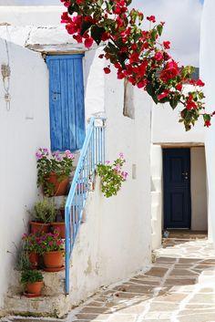 Prodromos village, Paros, Greece