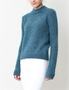"""This is cute! Looks comfy. --- """"Pullover #Sweater by Acne Lia Mohair"""""""