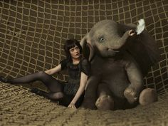 Originally based on the book written by Helen Aberson and Harold Pearl, Dumbo was the fourth animated feature film made by Walt Disney Productions, Dumbo The Elephant, Baby Elephant, Disney Films, Walt Disney, Disney Magic, Dumbo Movie, Cinema Box, Colleen Atwood, Colin Farrell