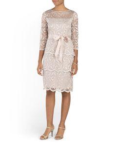 40618a302bb Gramercy Floral Lace Dress - Women - T.J.Maxx