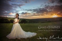 Game of Thrones Styled Bridal Shoot at Diggle House Farm