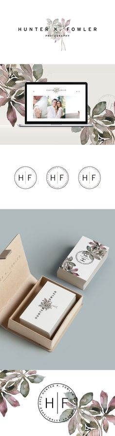 photography, branding, wedding photography, logo design, business cards, letterpress, watercolor, logo //D2