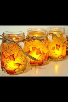 Fall mason jars!!